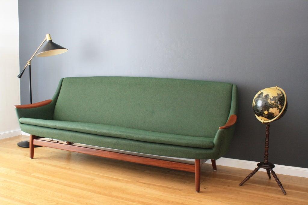 Scandinavian Modern Lounge Sofa At 1stdibs