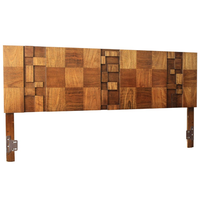 excellent mid century modern bedroom referencias san and | Mid-Century Modern King Size Headboard at 1stdibs