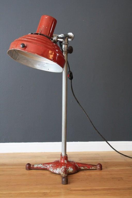 Vintage Industrial Floor Lamp At 1stdibs