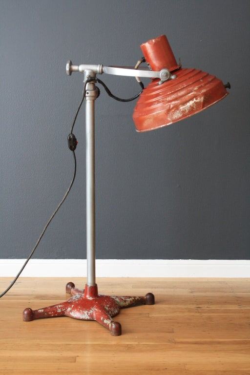 this vintage industrial floor lamp is no longer available. Black Bedroom Furniture Sets. Home Design Ideas