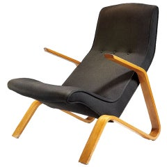 "Classic Eero Saarinen ""Grasshopper"" Lounge Chair for Knoll"
