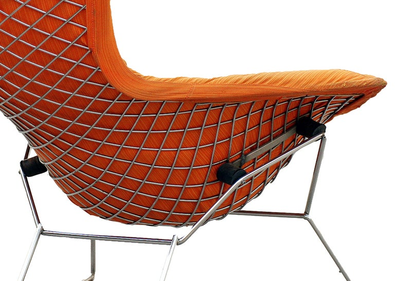 Harry Bertoia Quot Bird Quot Lounge And Ottoman Set For Knoll Sat