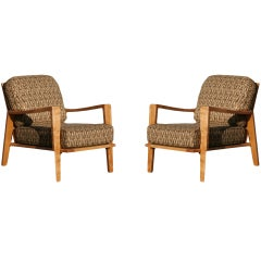Russel Wright Open Armchairs for Conant-Ball, Pair