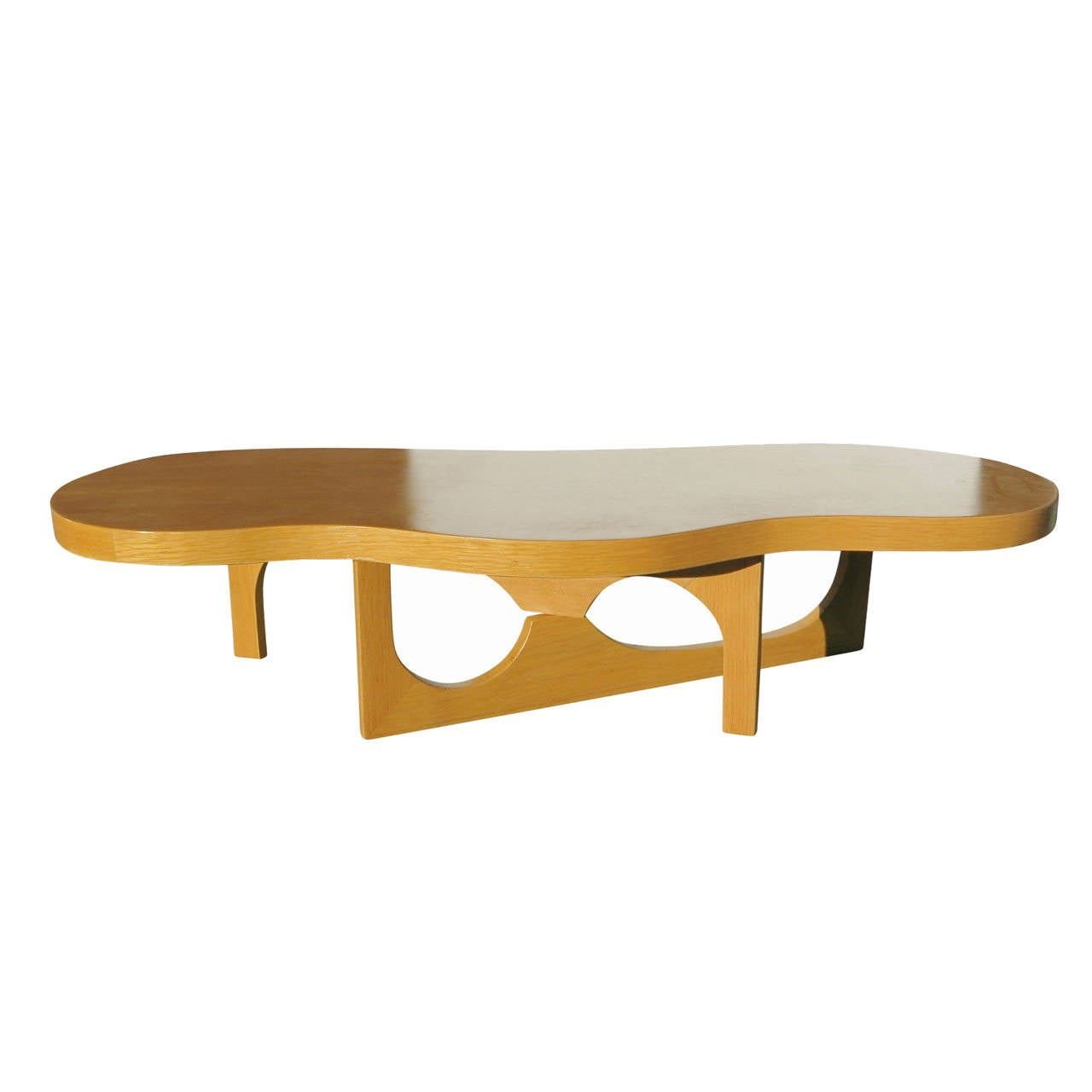 Isamu Noguchi Inspired Free Form Coffee Table At 1stdibs