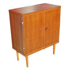 Danish Modern Rose Stained Cabinet **Saturday Sale**