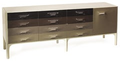 Large Raymond Loewy DF-2000 Credenza for Doubinsky Freres