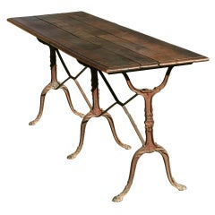 """Late 19th Century French Country """"Baker's"""" Table"""