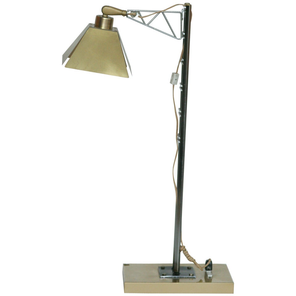 """Curtis Jere """"Jacob's Ladder"""" Table Lamp"""
