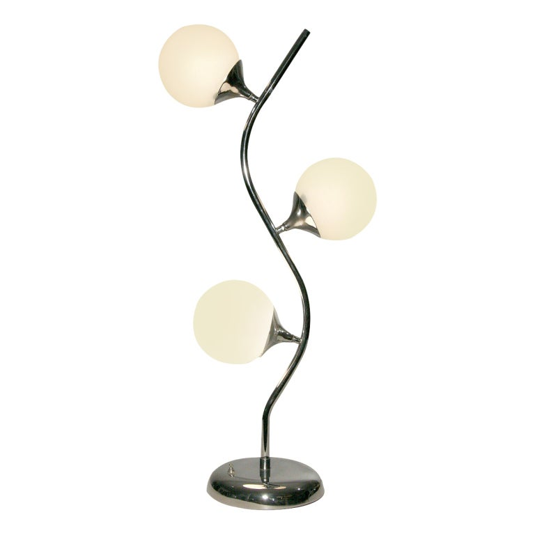 Vine-Like Table Lamp in the Manner of Robert Sonneman