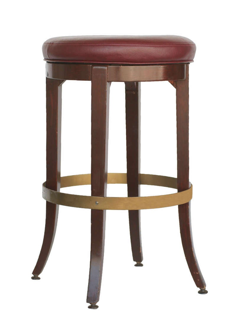 High Style Lounge Room Bar Stool At 1stdibs