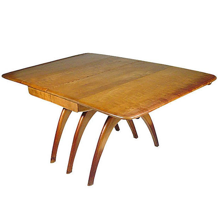 Heywood Wakefield Mid Century Modern Extension Dining Table And Chairs For At 1stdibs