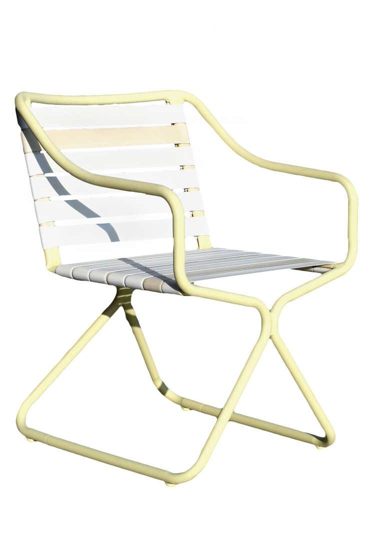 Brown jordan kailua tubular aluminum chairs and outdoor for Brown jordan lawn furniture
