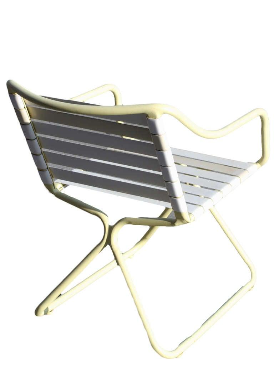 Brown Jordan Kailua Tubular Aluminum Chairs And Outdoor