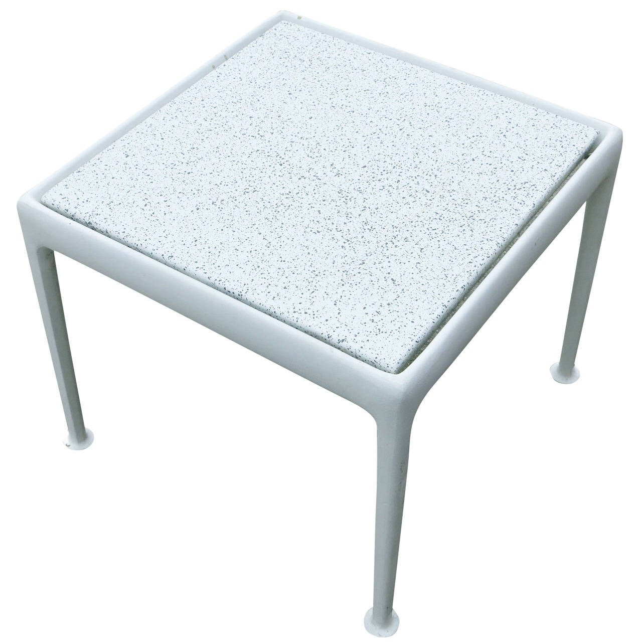 Rare Square Patio End Table By Richard Schultz For Knoll