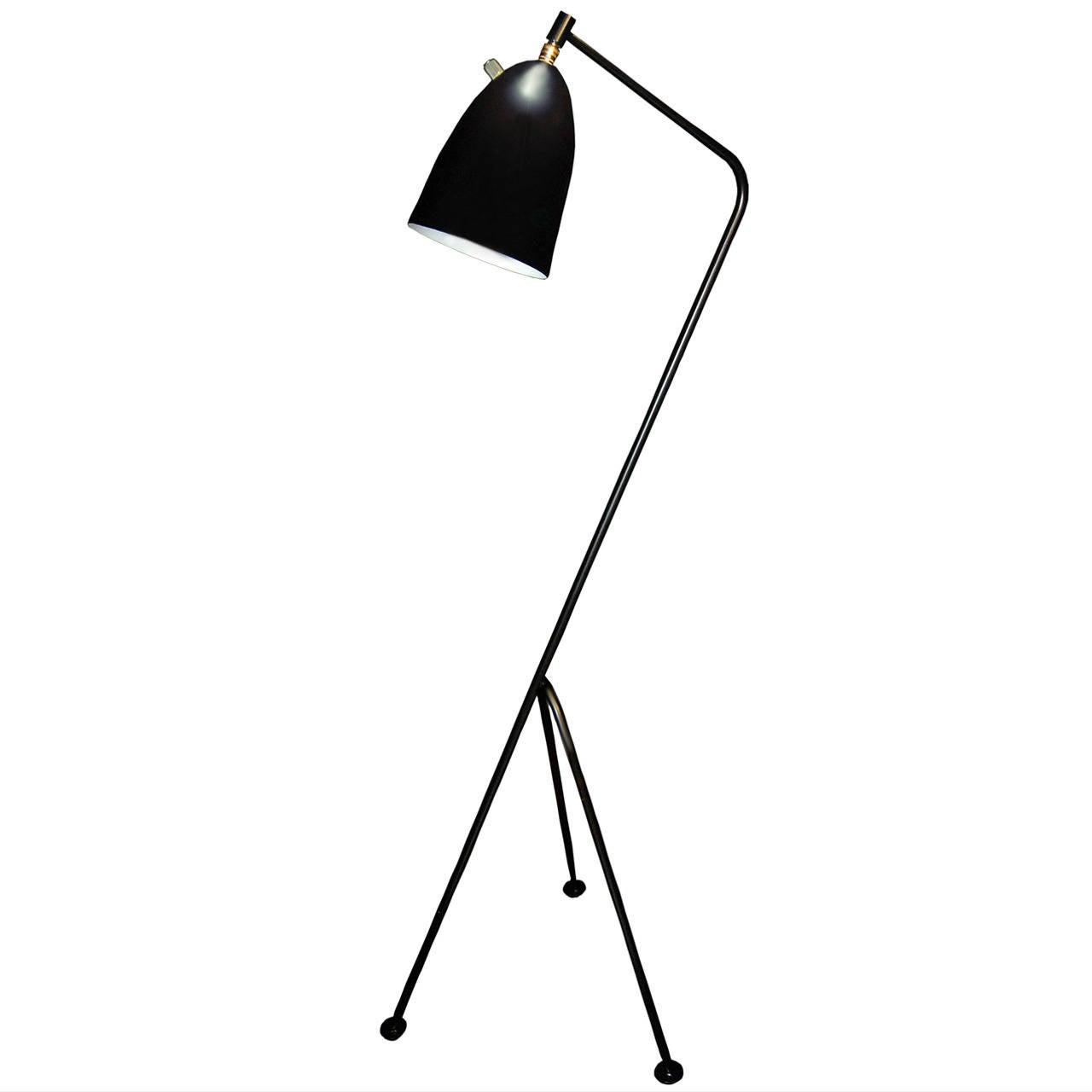 greta grossman style grasshopper floor lamp at 1stdibs. Black Bedroom Furniture Sets. Home Design Ideas