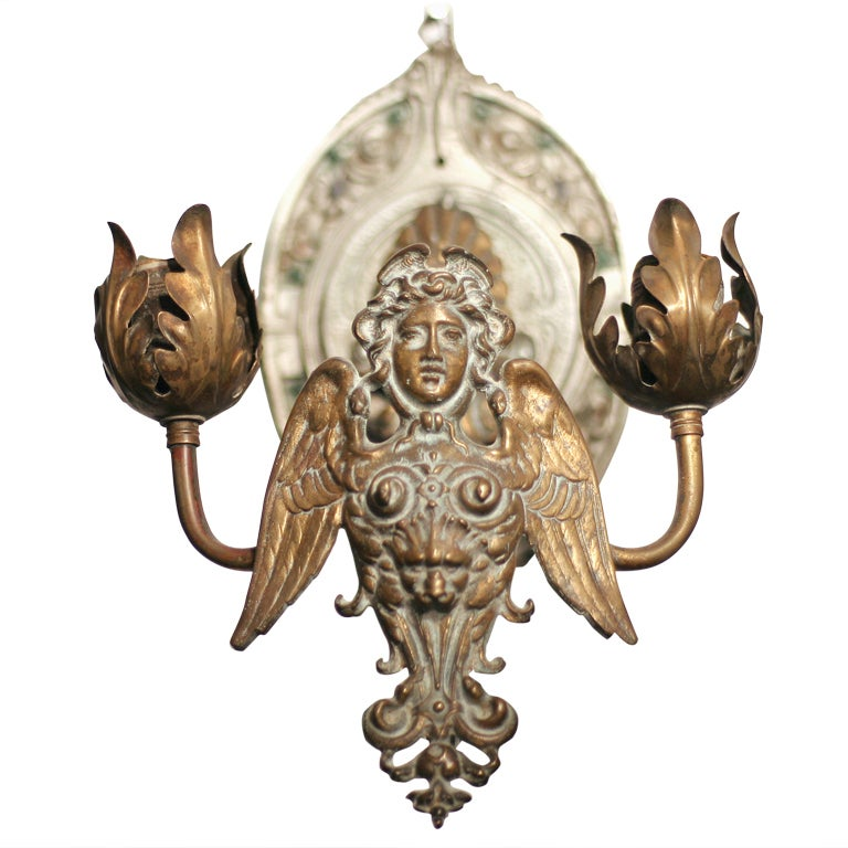 Neoclassical Wall Sconce