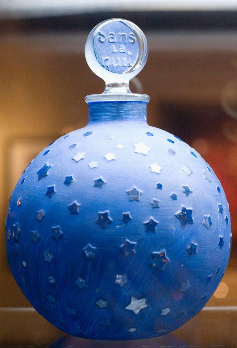 Rare Huge Lalique Quot Stars Quot Dans La Nuit Post War Factice