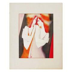 "John Luke Eastman ""One Mind"" Serigraph"