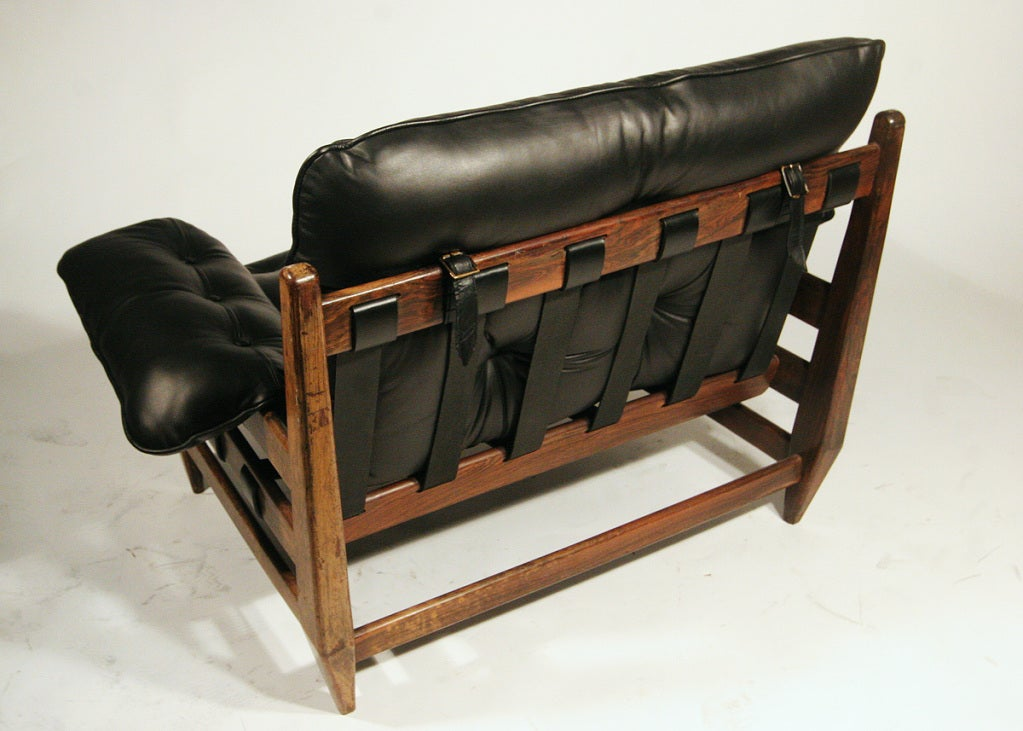 Sergio Rodrigues Mole Sofa Lounge Chairs And Ottoman At 1stdibs