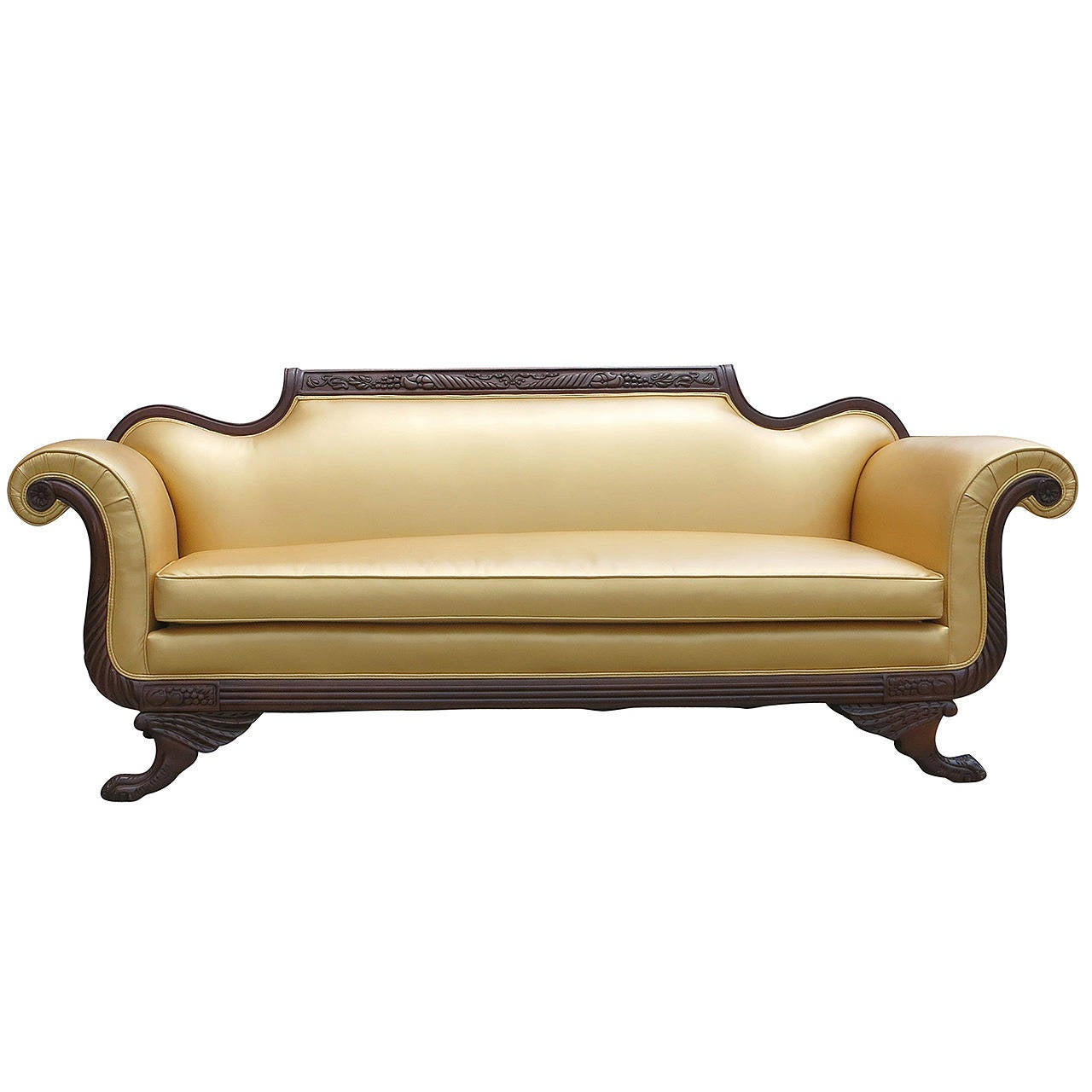 duncan phyfe style empire sofa at 1stdibs