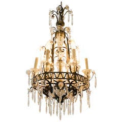 French Crystal Chandelier **Saturday Sale**