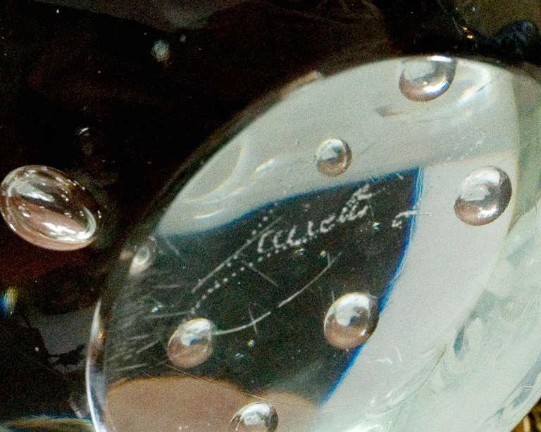 Vintage Murano Glass Fish Sculpture by Licio Zanetti For Sale 1