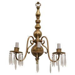 American Colonial Style Brass Wall Sconce