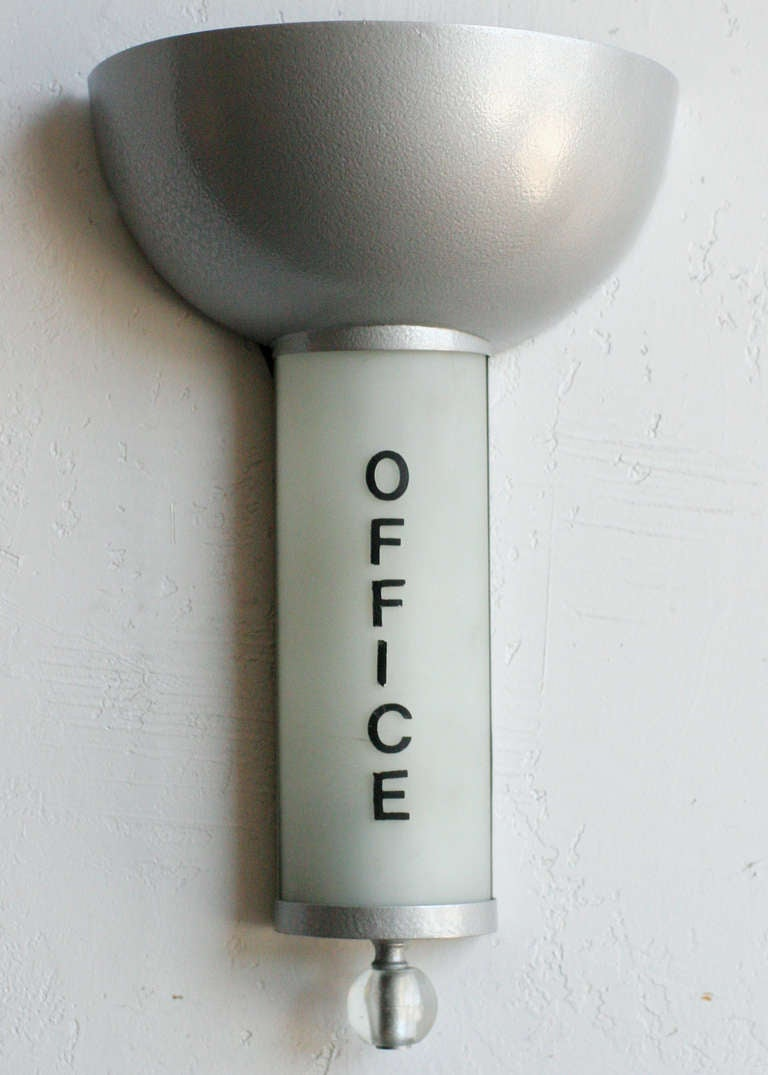 art deco office wall light sconce saturday sale for