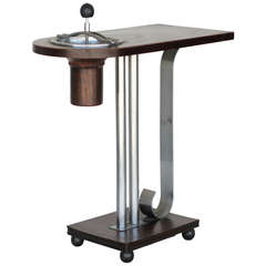 Art Deco Ashtray Side Table by Charles Hardy