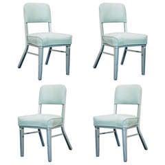 Set of 4 Steelcase Industrial Tanker Chairs **Saturday Sale**