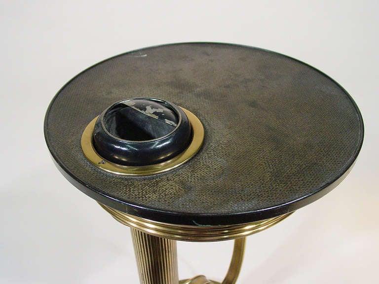 Original 30s Chase Brass Ashtray w/ Stand by Von Nessen image 5