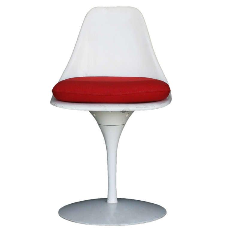 Burke Saarinen Style Tulip Chair Circa 1965 For Sale At