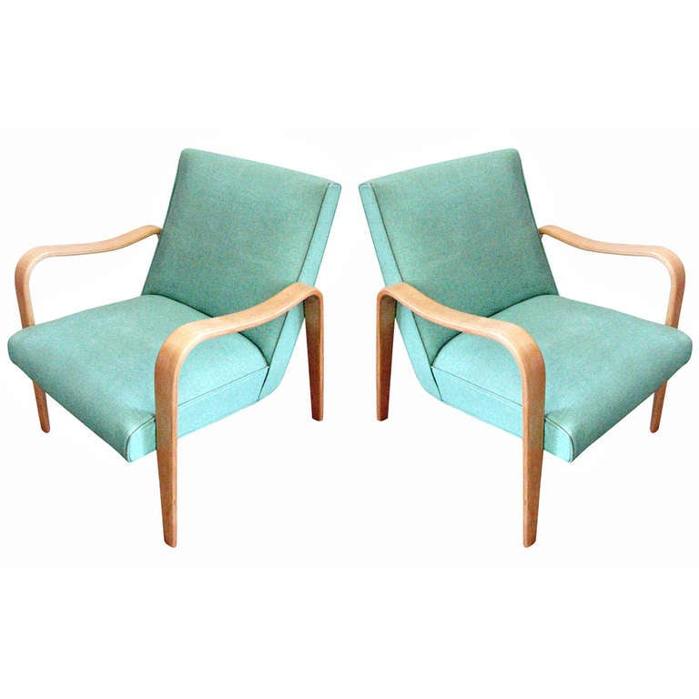 Pair Of Thonet Bentwood Armchairs For Sale At 1stdibs