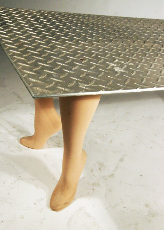 "playful pop art ""footsie"" coffee table ** saturday sale ** for"