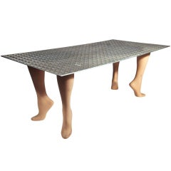 "Playful Pop Art ""Footsie"" Coffee Table"