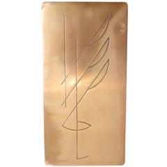 Mid Century Copper Desk Top Cigarette Case by Revere  ** Saturday Sale **