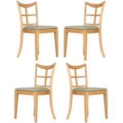 Paul Frankl for Brown Saltman Dining Chair, Set of Four