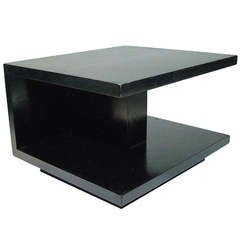 Van Keppel and Green Geometric Side Table