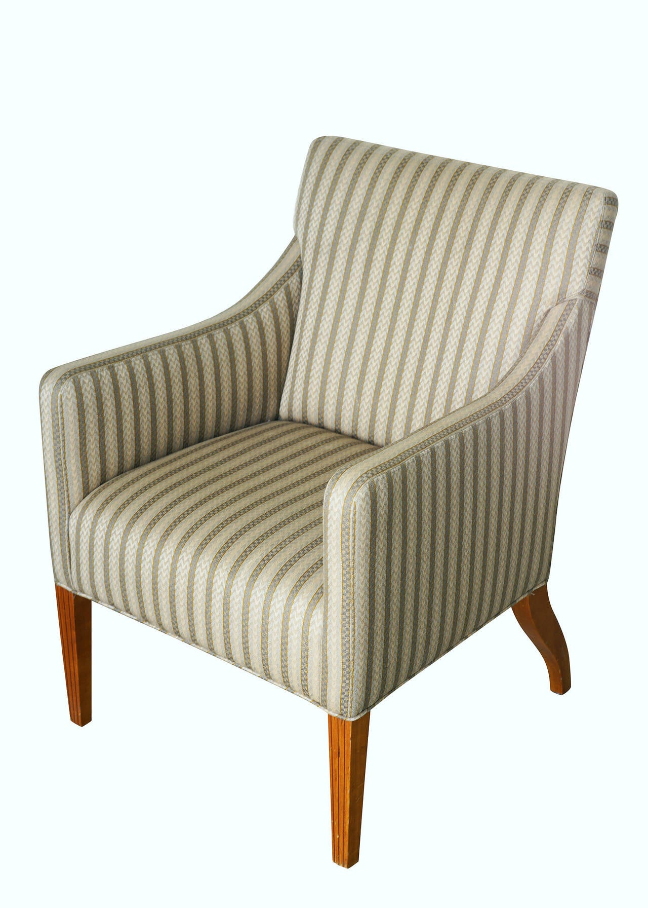 Tommi Parzinger Style Club Chairs For Sale At 1stdibs