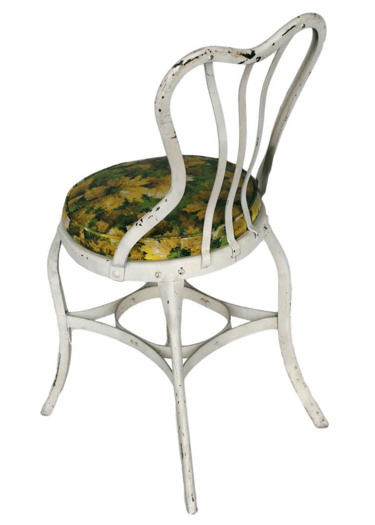 Rustic Uhl Art Chair By Toledo Metal Set Of 5 At 1stdibs