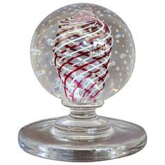Mid Century Pairpoint  Art Glass Scupture