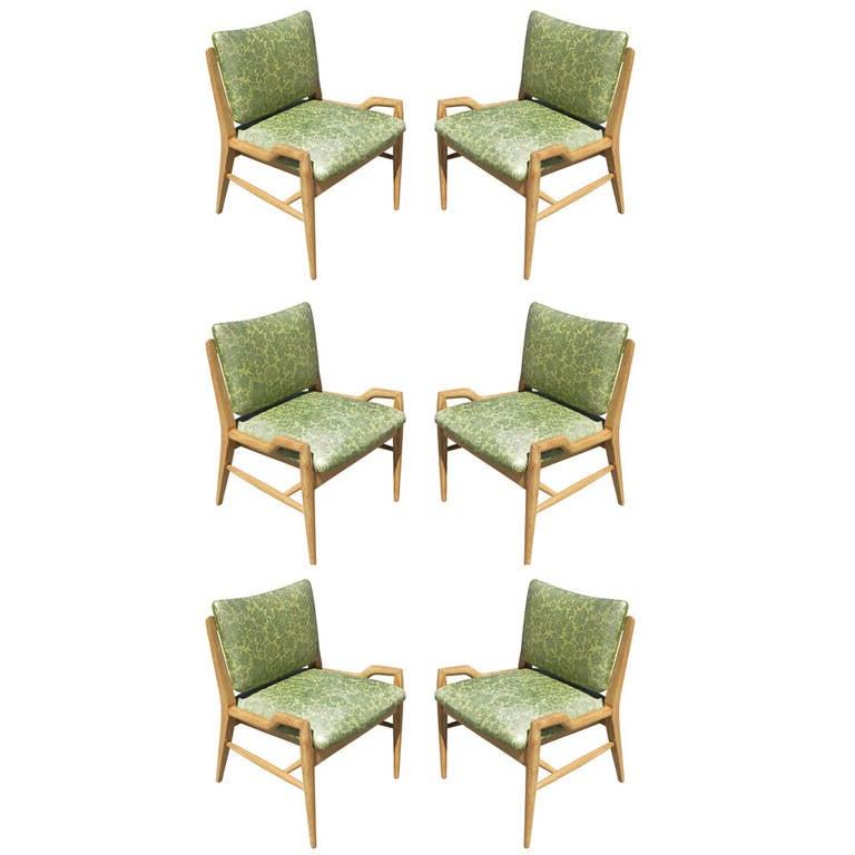 Set of Six John Keal for Brown Saltman Dining Chairs **Saturday Sale**