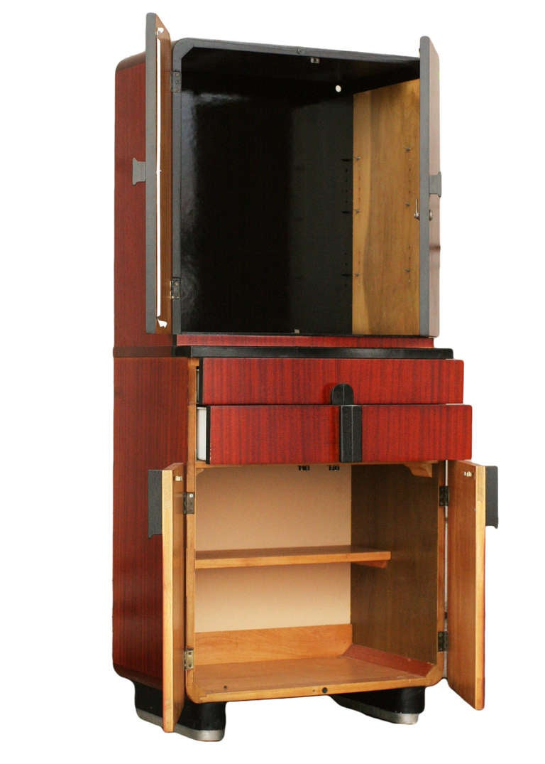Donald Deskey Bar Cabinet For Hamilton Company For Sale At 1stdibs