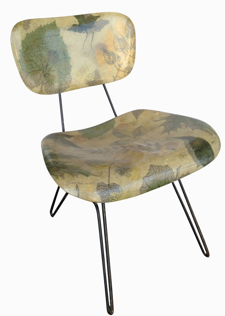 Hobart Wells Hairpin Lounge Chair For Lensol 3
