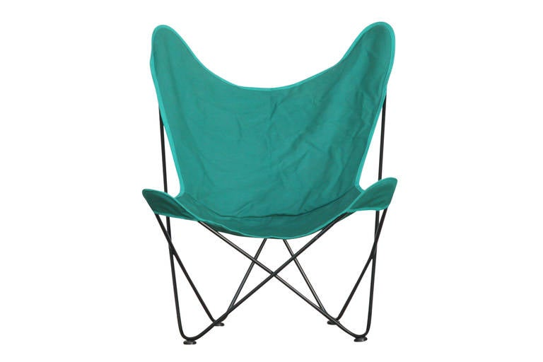 "Outdoor Patio Butterfly ""Hardoy"" Chair by Jorge Ferrari Hardoy for"