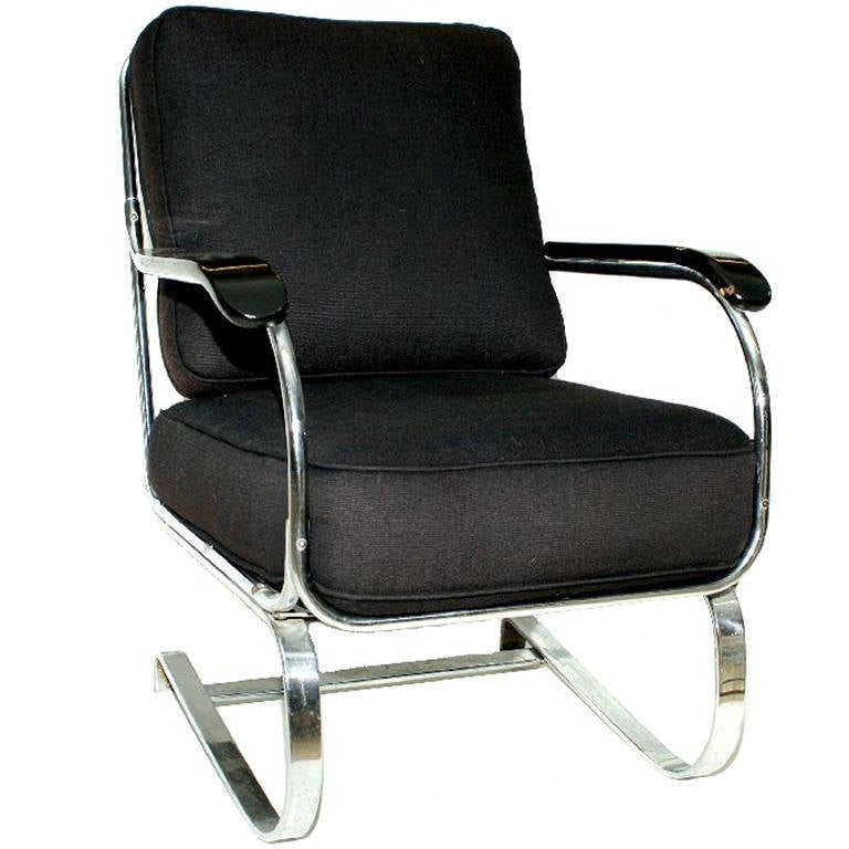 Kem Weber Springer Armchair for Lloyd