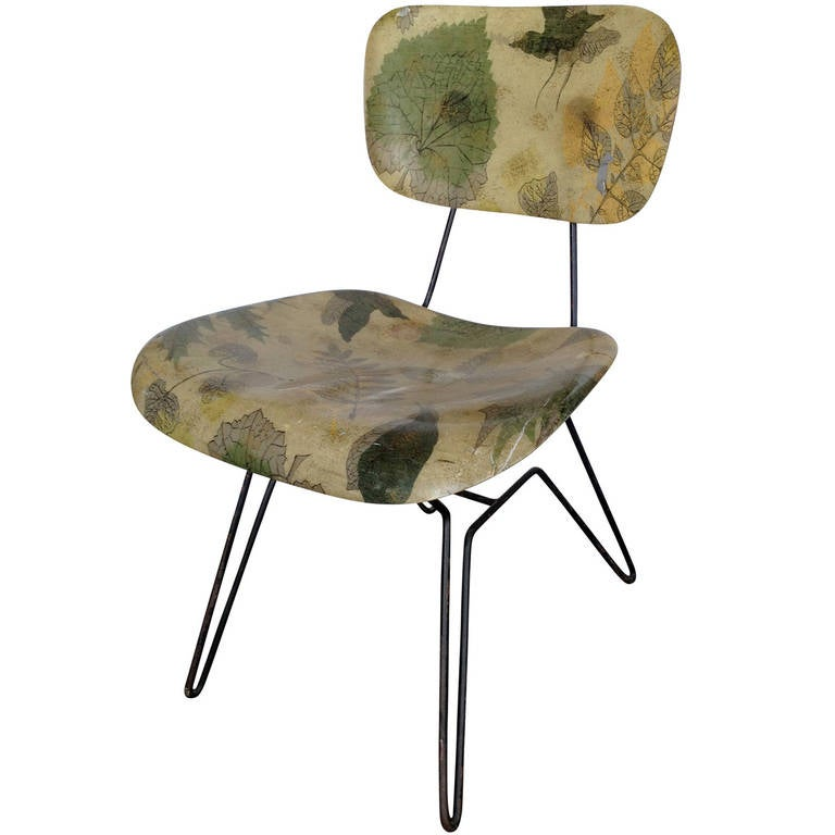 Hobart Wells Hairpin Lounge Chair For Lensol 1
