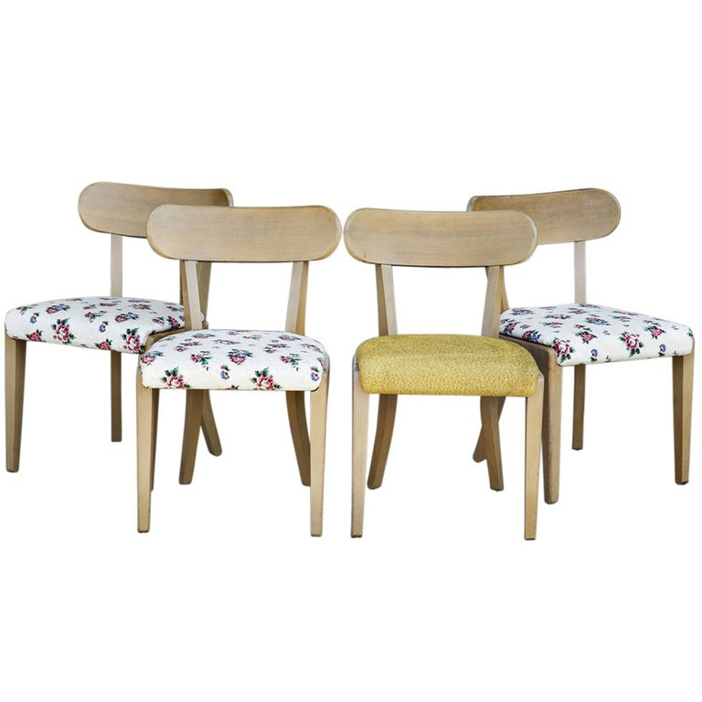 Four Edward Wormley Precedent By Drexel Dining Chairs 239