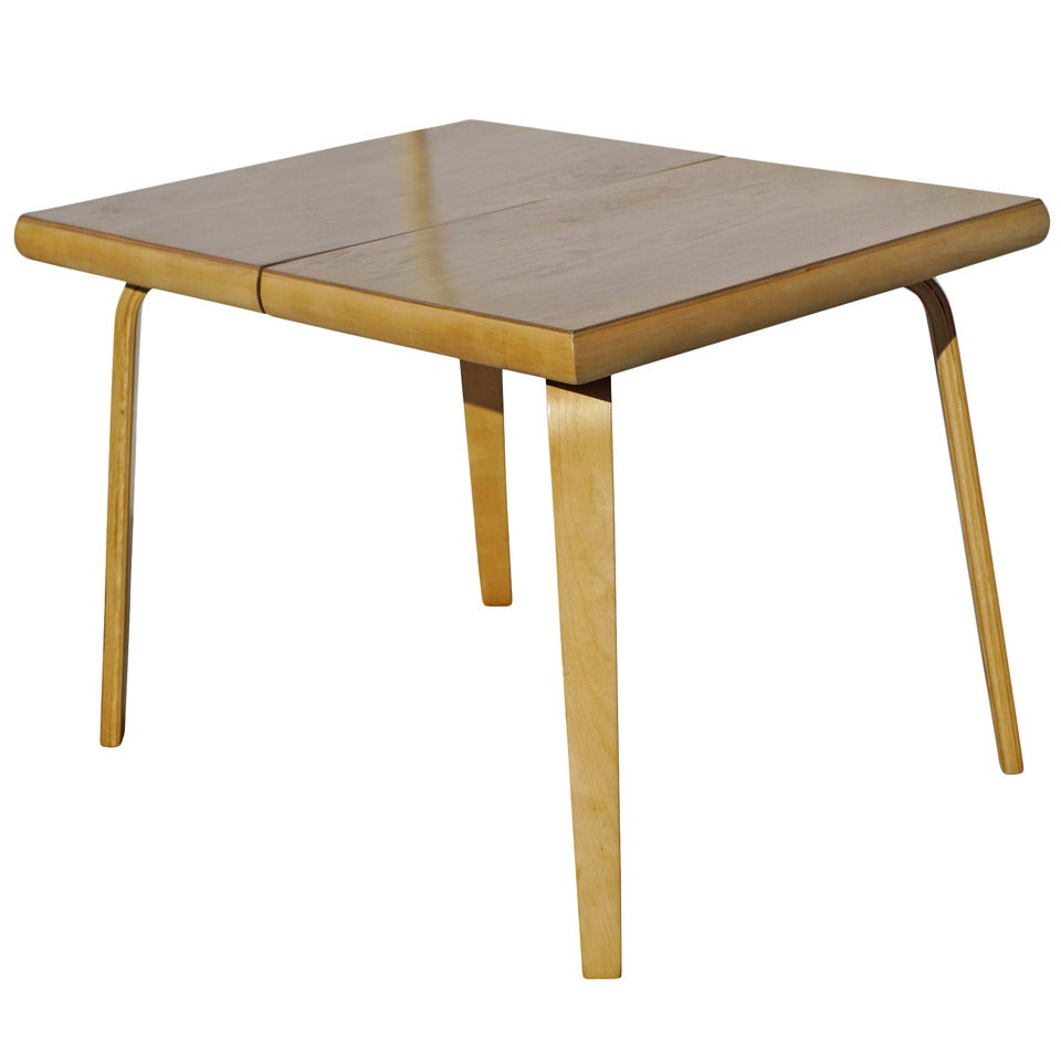 rare bent plywood dining tablethaden-jordan furniture for sale