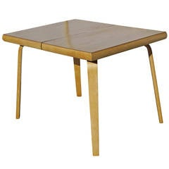 Rare Bent Plywood Dining Table by Thaden-Jordan Furniture